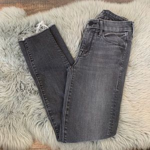 MOTHER Looker Ankle Fray Jeans Rebels and Lovers